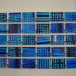 Lichtmalerei - Meditationsblau; Gedächtniskirche Berlin